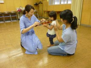 リトミック バイオリン 体験 大田区 池上