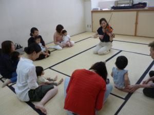 大田区 池上 ヴァイオリン リトミック イベント
