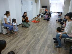 大田区 池上 品川区 旗の台 リトミック教室 ドレミのおへや 0歳 1歳 2歳 3歳