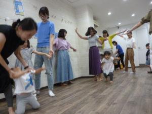 大田区 池上 リトミック ドレミのおへや テラッコ イベント 子どもの夏フェス 1歳・2歳・3歳