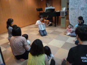 ヴァイオリンでリトミック 品川区 旗の台 ドレミのおへや