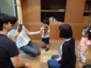 ヴァイオリンでリトミック 2歳クラス 品川区 旗の台 ドレミのおへや