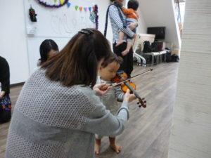 ヴァイオリン弾いてみよう 大田区 池上 ドレミのおへや