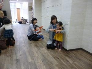 ヴァイオリン体験 2歳 池上 リトミック
