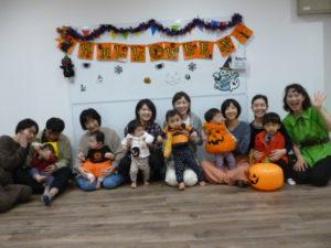 ハロウィンリトミックイベント!大田区 テラッコ池上にて 1歳クラス