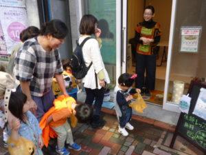 ママパパと一緒にトリックオアトリート! 大田区 池上商店街 2歳・3歳クラス