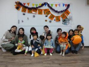 ハロウィンリトミックイベント!大田区 テラッコ池上にて 2歳・3歳クラス