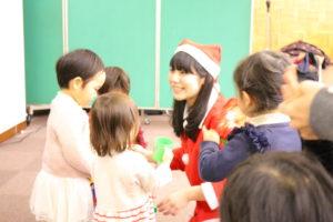 クリスマスイベント リトミックコンサート 大田区 嶺町特別出張所 リトミっこ
