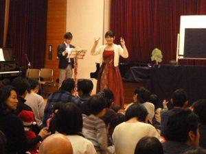 クリスマスリトミックコンサート 大田区 田園調布富士見会館 2019年